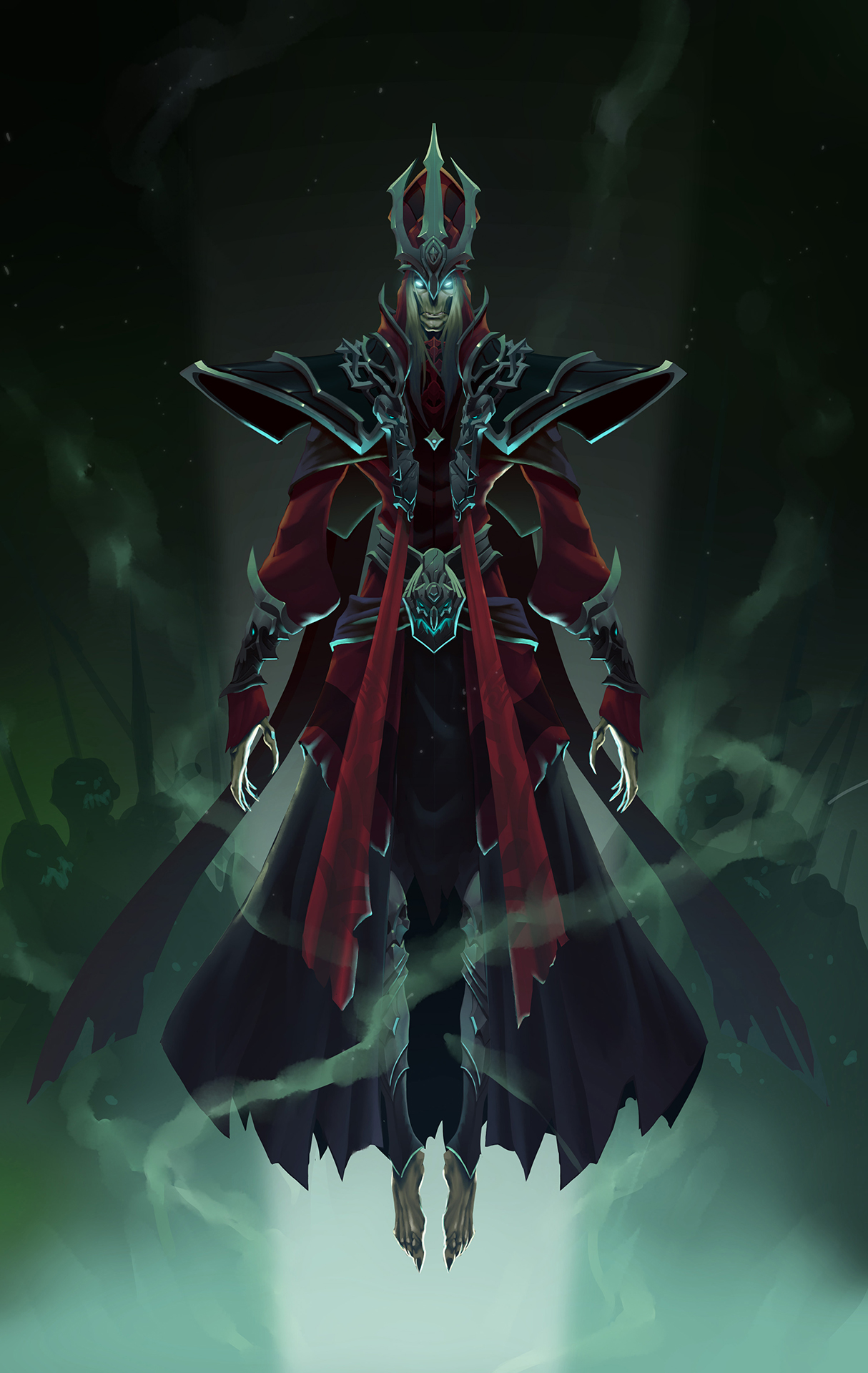 Karthus A Voz Mortal League Of Legends
